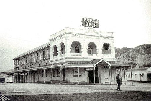 Empire Hotel-Queenstown, Tasmania built by Miguel Parer 1901