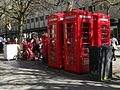 Empty red boxes on The Promenade, Cheltenham (33460747895).jpg