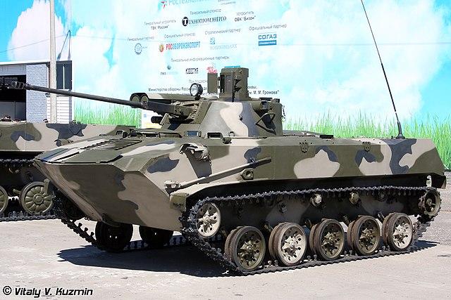 BMD-2M V. Kuzmin