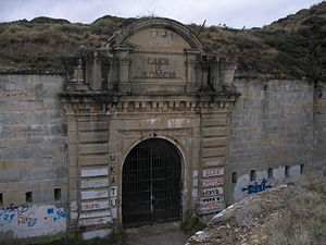 Fort San Cristóbal (Spain) - Entrance to the fortification