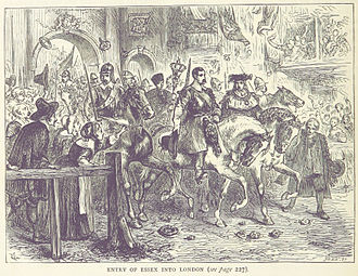 Robert Devereux, 3rd Earl of Essex - Essex enters London after the First Battle of Newbury