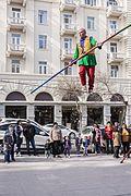 Equivibrist in the streets of Baku.jpg