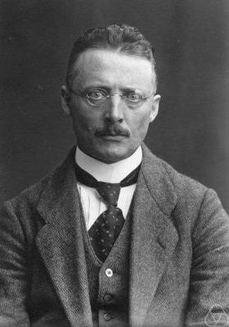 Ernst Sigismund Fischer - ca. 1920