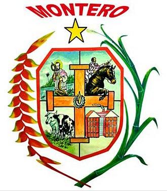 Montero - Image: Escudo de Montero