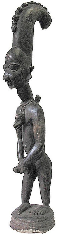 History of Nigeria before 1500 - Statue of the orisha Eshu, Oyo, Nigeria, c. 1920