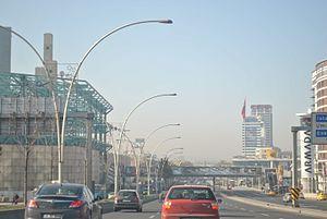 İsmet İnönü Boulevard (Ankara) - the west end of ismet İnönü Boulevard