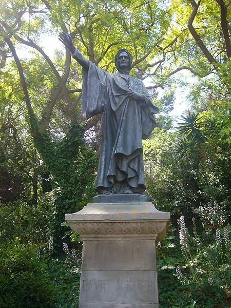 File:Estatua de Dante a la plaça de Dante.JPG