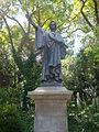 Estatua de Dante a la plaça de Dante.JPG
