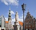 Estatua de San Ronaldo, Riga, Letonia, 2012-08-07, DD 04.JPG