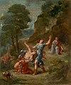 Eugène Delacroix - Four Seasons, Spring - Eurydice bitten by a serpent while picking flowers (MASP).jpg