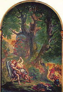 mural by Eugène Delacroix