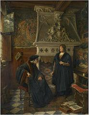 Erasmus and Quentin Matsys