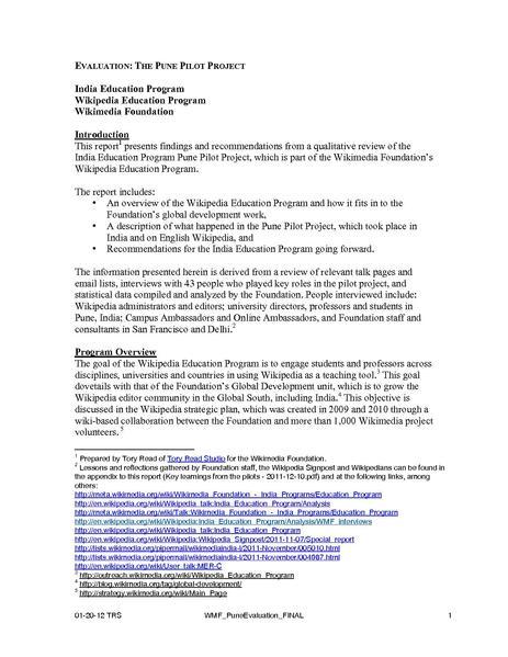 File:Evaluation - The Pune Pilot Project.pdf
