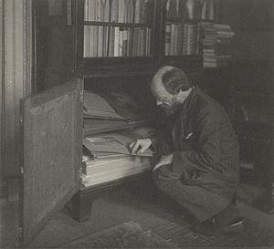 Frederick H. Evans - Frederick H. Evans, photo by Gertrude Käsebier