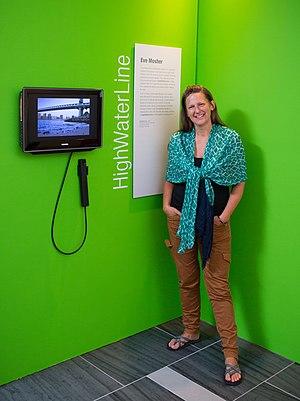 Eve Mosher - Sensing Change exhibit, 2013