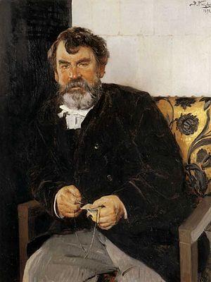 Evgraf Semenovich Sorokin - Evgraf Sorokin (1891); portrait by Vladimir Makovsky