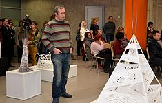 Exhibition Plein Air Snowy Summer National Library 22.01.2015 Igor Zosimovich.JPG