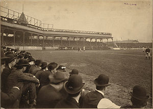 1903 World Series - Game 4 of the 1903 World Series at Exposition Park.
