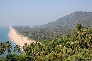 Ezhimala Hill - Ezhimala Beach