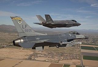 Luke Air Force Base US Air Force base in Glendale, Arizona, United States