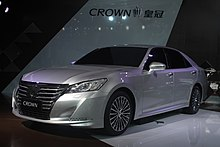 FAW Toyota CROWN S210 China Specification For 2014 Guangzhou Auto Show.JPG