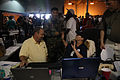 FEMA - 37745 - Evacuees and federal workers at the airport in Louisiana.jpg