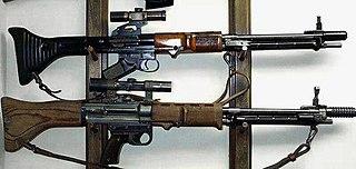 FG 42 German battle rifle
