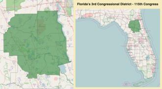 Florida's 3rd congressional district - Florida's 3rd congressional district - since January 3, 2017.