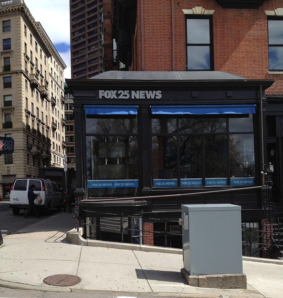 FOX 25 News studio Boston