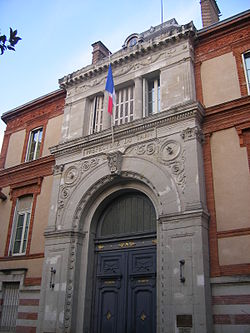 Prefecture building of the Tarn department, in Albi