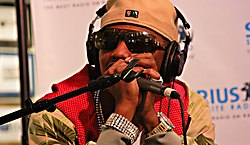 Fabolous at Sirius Satellite Radio in 2007
