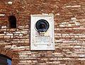 Fabriano, palazzo del podestà, busto di gentile da fabriano di giuseppe tonnini, 1927.jpg