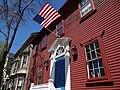 Facade of Nathan Seamans House - c. 1792 - Providence - RI - USA (7099671217).jpg
