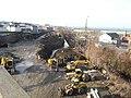 Fall River- Demolition in progress south of Anawan Street (13250619834).jpg