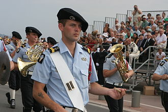 Drummer - Drummer of the French Chasseurs alpins, 2007