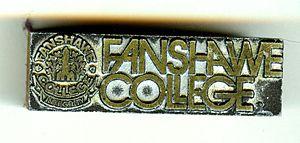 Fanshawe College - Fanshawe College old logo (printers template 1974)