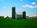 Farm with Two Madison Silos - panoramio.jpg