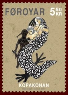 Faroese stamp 584 the seal woman.jpg