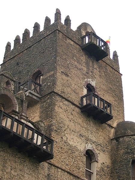 File:Fasilidas' palace, Gonder, Ethiopia 02.jpg