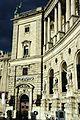 Fassade Nationalbibliothek Heldenplatz, Rechtsansicht,.JPG