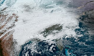 February 2021 North American ice storm