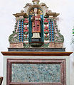 Felletin - Église Sainte-Valérie - Nef - Un autel.JPG