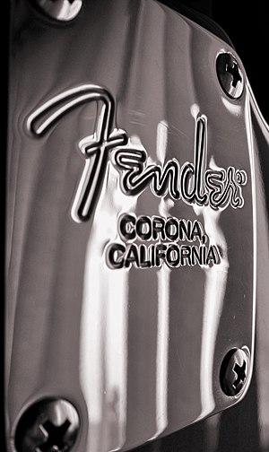 Leo Fender - Image: Fender bw
