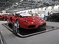 Ferrari Enzo in 2006 at British International Motor Show -cosmic spanner.jpg
