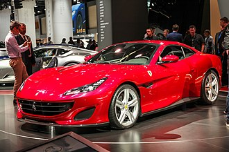 Ferrari Portofino - Portofino on show with hard-top up