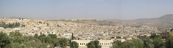 Fes Medina Panoramic view.jpg