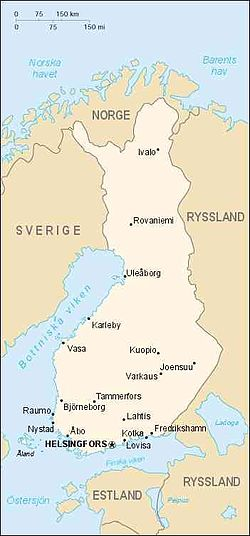 kart sverige finland Finlands geografi – Wikipedia kart sverige finland
