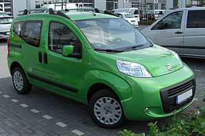 Leisure activity vehicle - Fiat Qubo, a modern small LAV