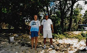 Laisenia Qarase - Image: Fiji 2004 Mr Qarase