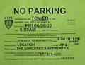 FilmLocationTemporaryNoParkingSign060709.JPG